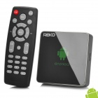 REKO QT830 Android 4.2 Mini PC Google TV Player W / 1 Гб оперативной памяти / 4 Гб ROM / Пульт дистанционного управления - черный
