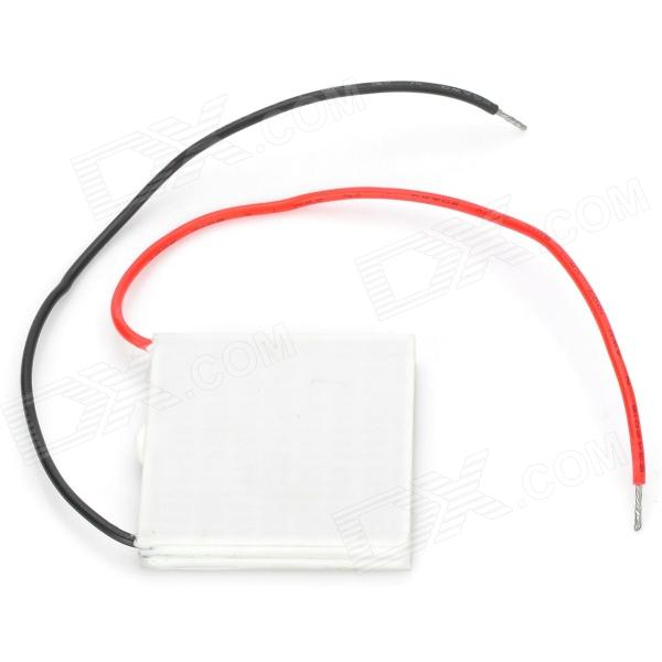 XH-19006BP Thermoelectric Cooler Peltier Plate Semi-conductor - White + Red + Black freeshipping tec2 25408 70w 30 degree double deck thermoelectric cooler cooling peltier