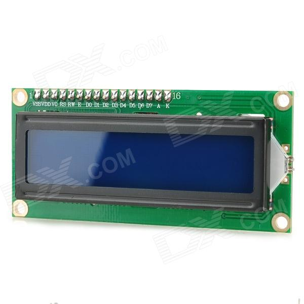 5V IIC 2.6 Blue Screen LCD Display Module for Arduino - Green + Black nokia 5110 lcd module white backlight for arduino uno mega prototype