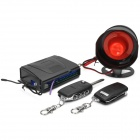 One Way Car Burglar Alarm System - Black