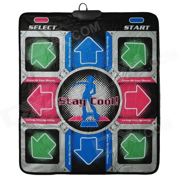 Computer Fitness Sport One-person Dance Pad / Mat - Multi-color
