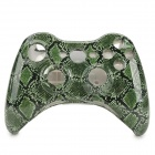 Replacement ABS Full Housing Case Shell for Xbox 360 Wireless Controller - Deep Green