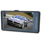 "9"" LCD Touch Screen Car Rearview Mirror LCD Monitor w/ Remote Controller - Black"