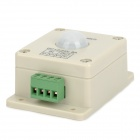 Mini 192W 8A PIR Sensor Switch - Beige + Green (DC 12~24V)
