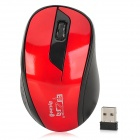 Jiayibing S5 2.4GHz Wireless 1600dpi Mouse - Red + Black (1 x AA)