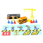 WLtoys 5010-4 Mini 1:52 Scale Rechargeable 2-CH Radio Remote Control R/C Carrier Loader - Yellow