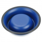 Stainless Steel Pet Food Water Bowl - Blue