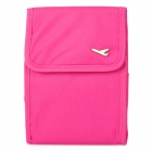 Mini Multifunction Waterproof Fabric Shoulder Bag for Women - Deep Pink