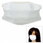 C1BD2003 Reusable Anti-Dust Respirator Safety Face Mask - White (5 PCS)