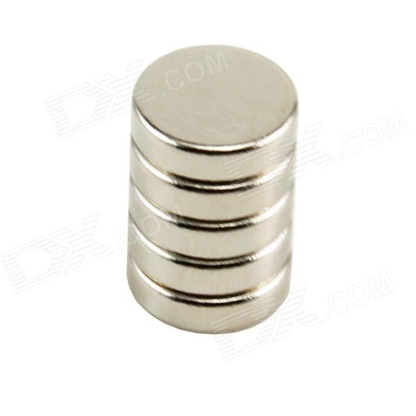 10050056W Round Powerful Magnets - Silver (5 PCS-Pack)