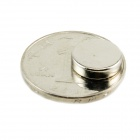 Round Powerful Magnets - Silver (5 PCS-Pack)