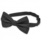 GORESON British Style Decoration Bow Tie for Men - Black