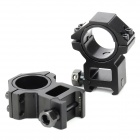 Aluminum alloy 25 / 30mm Gun Rail Mount - Black (2 PCS)