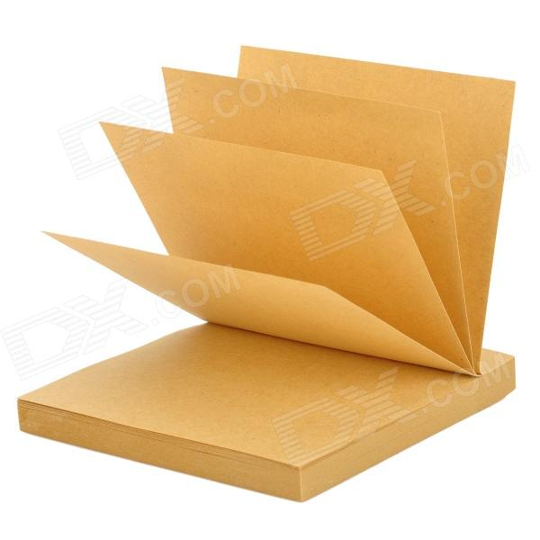 Bitong BT-8829 Convenient Paper Sticky Note - Coffee (80 Sheets) never rose gold sticky notes and memo pads set cute post note paper notepads set fashion office accessories stationery store