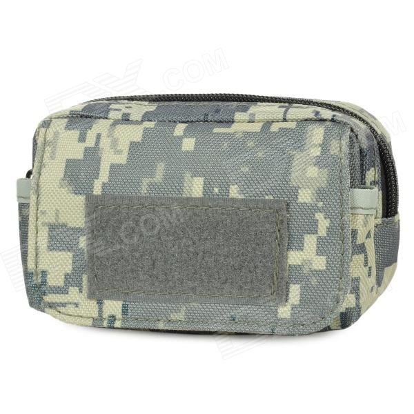 Outdoor Water Resistant Field Operation War Game Accessories Bag - Camouflage (0.25L) or fabric camouflage leaf headgear