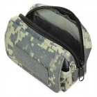 Outdoor Water Resistant Field Operation War Game Accessories Bag - Camouflage (0.25L)