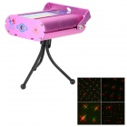 FD-03 Mini Green Red Mixed Laser Light Show System - Deep Pink