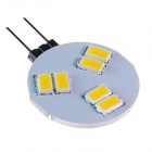 GCD 310 G4 3W 160lm 6-SMD 5630 LED Warm White Light Car Lamp - (12V)