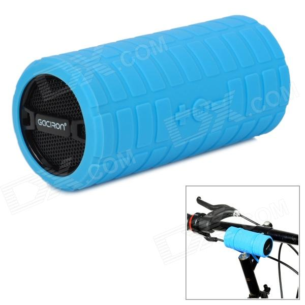 Gaciron B07 Mini Portable Speaker for Bicycle - Blue + Black