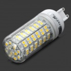 UltraFire G9 4W 190lm 3200K 108-3528 SMD LED Warm White Lamp - White + Yellow