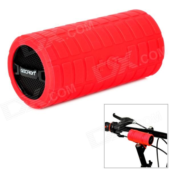 Gaciron B07 Mini Portable Speaker for Bicycle - Red + Black