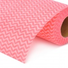 Multifunction Non-woven Cloth Dish Wash Cloth - Pink