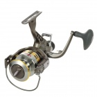 GF5000 Handy Durable Stainless Steel Fishing Line Asorting Device Fishing Reel - Silver + Gray