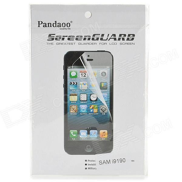 PANDAOO Clear Screen Protector for Samsung Galaxy S4 Mini / i9190