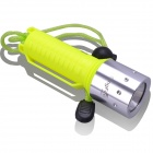 SingFire SF-604 CREE XM-L T6 800lm 1-Mode Cool White Diving Flashlight - Yellow + Silver (1 x 18650)