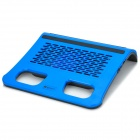 USB Notebook Laptop Cooling Pad w/ Speaker - Blue + Black