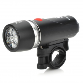 5-LED 3-Mode Flashlight with Bike Mount (4*AAA Included)