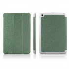 ENKAY ENK-3337 Protective PU Leather Case w/ Holder for Ipad MINI - Green