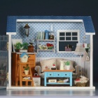 HongDa W008 Warm Whisper DIY House the Creative Gift of Valentine's Day Summer House Model Toy