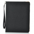 Lychee Pattern 360 Degree Rotation PU Leather Case for Ipad 2 / 3 / 4 - Black