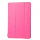Stylish Protective PU Leather Case for Ipad MINI - Deep Pink