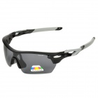 CARSHIRO 9369 Sporty UV400 Polarized Goggles + Replacement Lenses for Cycling & Outdoor Sports