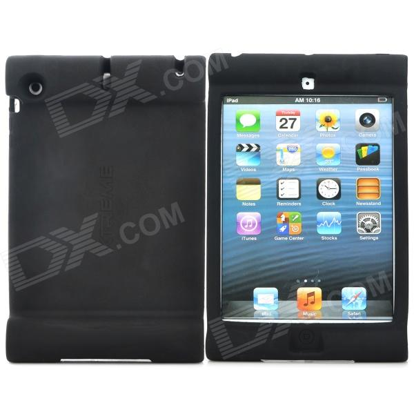 Anti-Shock Protective Silicone Case for Ipad MINI - Black universal anti shock protective silicone back case for ipad 2 3 4 black