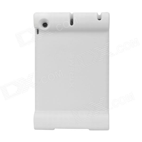 Anti-Shock Protective Silicone Case for Ipad MINI - White protective silicone case for ipad 5 translucent white