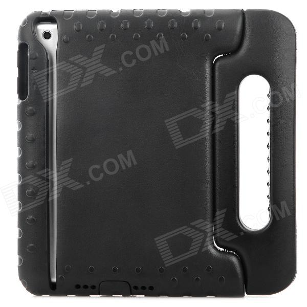 Thick Shockproof Plastic Back Case w/ 180 Degree Rotatable Handle / Holder for Ipad MINI - Black momax x lens 4 in 1 120 degree wide angle 15x macro lens 180 degree fisheye cpl filter for smartphone tablet silver