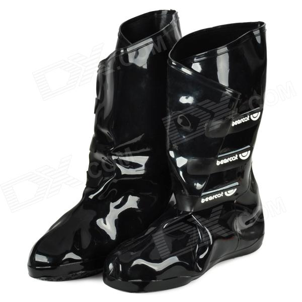 Bearcat Fashion PET + PVC Anti-slip Rain Boots for Women - Black (Pair) кукла алла весна
