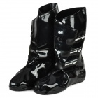 Bearcat Fashion PET + PVC Anti-slip Rain Boots for Women - Black (Pair)