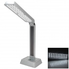 YAGE YG-3948 Folding Design Rechargeable 33 x LED 120lm White Desk Reading Lamp - Silver