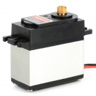 E1201 12kg Metal Gear Servo for R/C Car - Black + Silver White