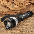 Radar 8066 Cree XP-E Q5 130lm 3-Mode White Flashlight - Black (1 x 18650 / 3 x AAA)