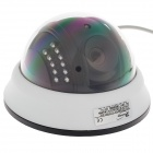 "Paisan PS-3428CK 1/3"" CMOS 600TVL Surveillance Dome Camera w/ 22-IR LED - White + Black"