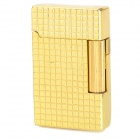 1300 Centigrade Windproof Blue / Yellow Butane Jet Torch Lighter - Golden