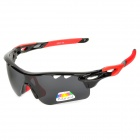 CARSHIRO 9559 Sporty UV400 Polarized Goggles + Replacement Lenses for Cycling & Outdoor Exercises