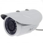 "Paisan PS-668AP 1/3"" CCD 480TVL 60' Wide Angle PAL Surveillance Security Camera w/ 24-IR LED - White"