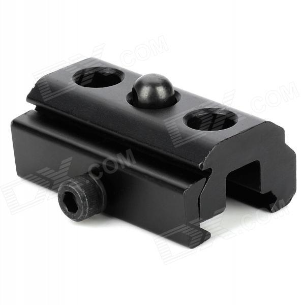Aluminum Alloy 20mm Rail Mount Adapter - Black dlla133p814 common rail injector nozzle suitable for diesel engine a