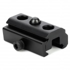 Aluminum Alloy 20mm Rail Mount Adapter - Black
